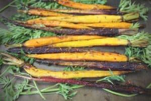 Honey Lemon Roasted Carrots with Cumin