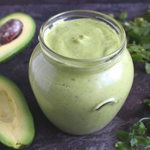 Avocado Cilantro Lime Sauce