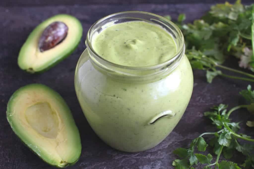 Creamy Avocado Cilantro Lime Sauce