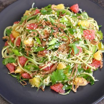 Green Tea Soba Noodle Citrus Salad
