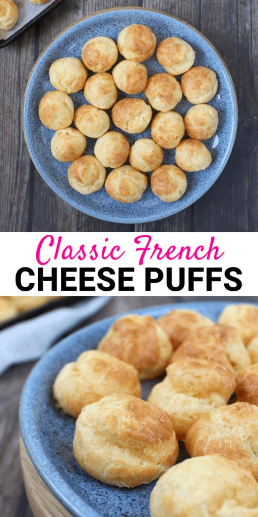 Classic French Cheese Puffs, aka Cheese Gougeres