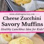 Cheese Zucchini Savory Muffins