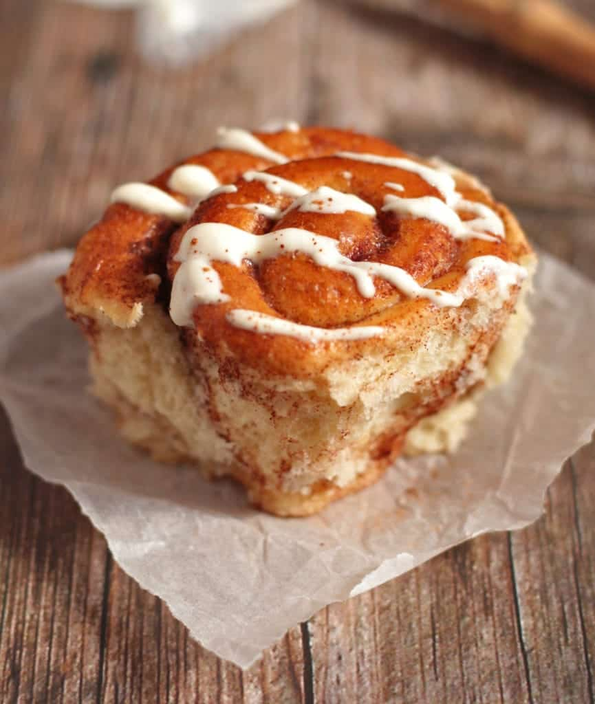 Iced Cinnamon Scroll