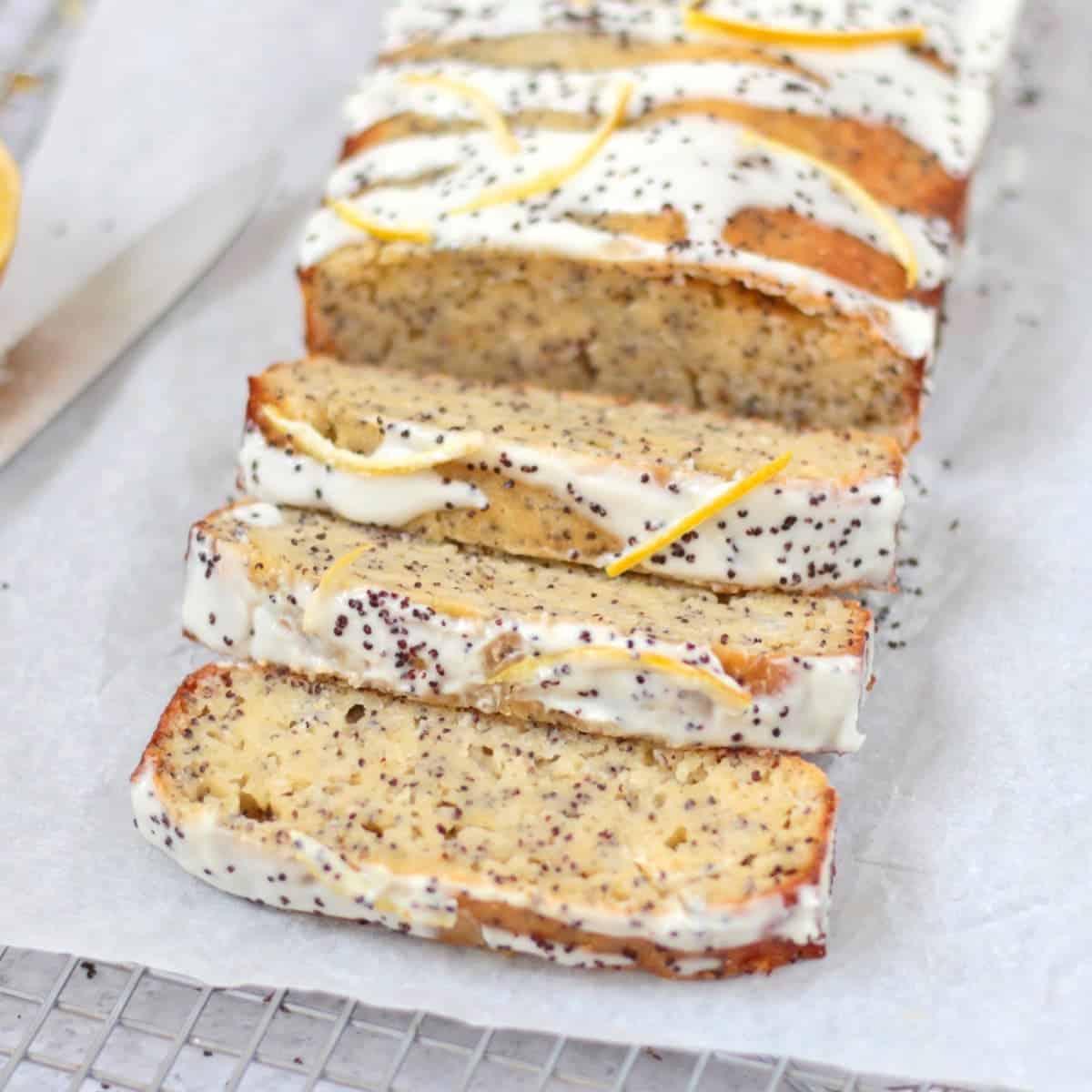Sliced Poppy Seed Loaf