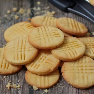 Sable Breton Cookies ready to be eaten