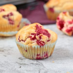 A few Raspberry Lemon Muffins