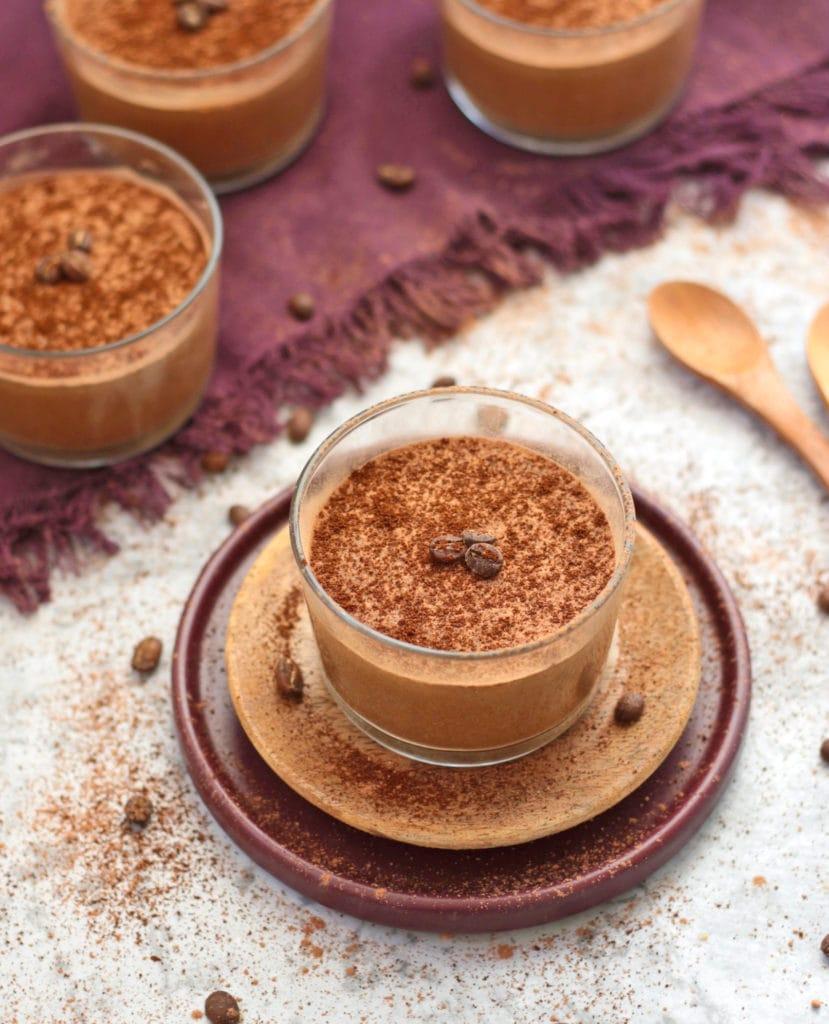 4 Espresso Mousse Cups