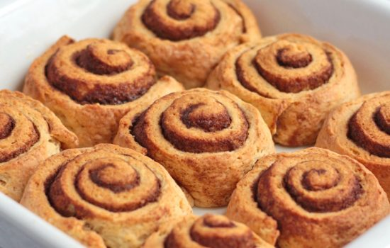 Quick No Yeast Cinnamon Rolls (ready in 40 minutes!)
