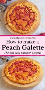 How to make a Peach Galette