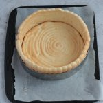 Assembling the Cake: Ladyfinger Base and Edge in Pastry Ring