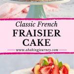 Classic French Fraisier Cake