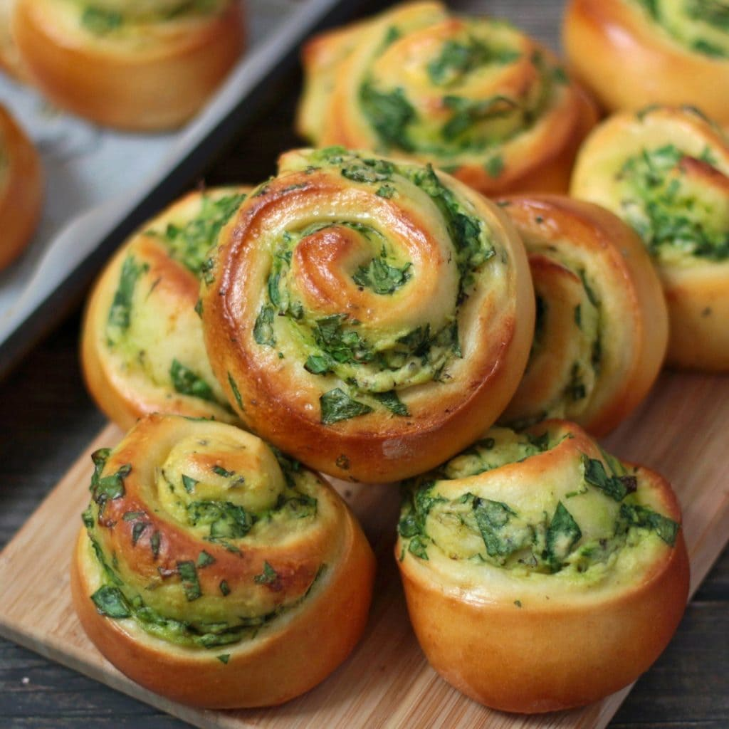 Spinach And Ricotta Rolls A Baking Journey