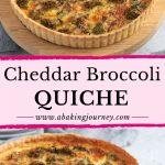 Cheddar Broccoli Quiche
