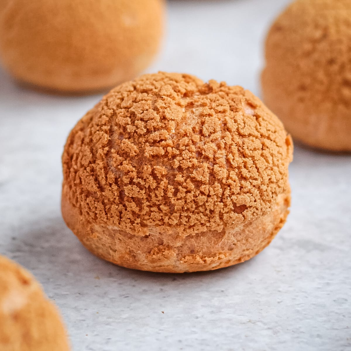 The Best Choux Au Craquelin Crispy Cream Puffs A Baking Journey