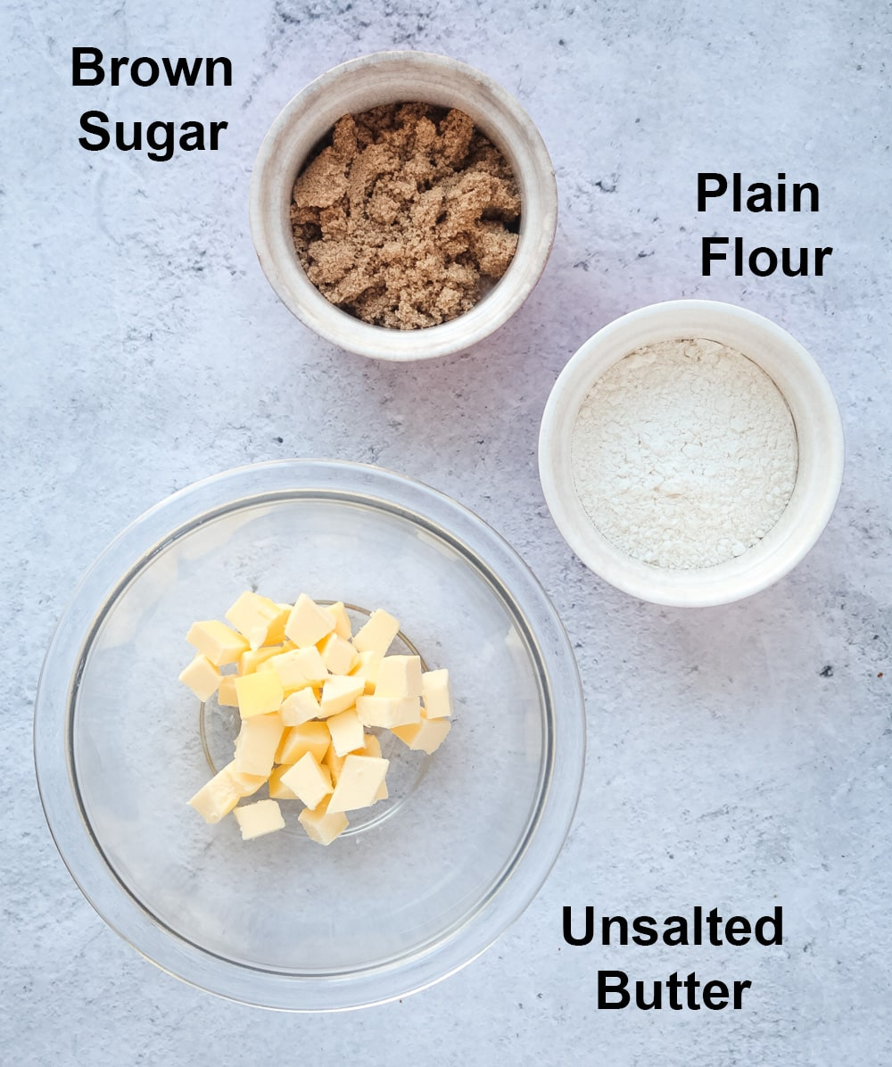 Ingredients for the Craquelin