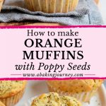 How to make Poppy Seed muffins with orange