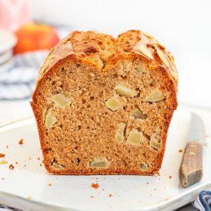 Crumb Shot of the loaf sliced in half