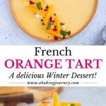 French Orange Tart