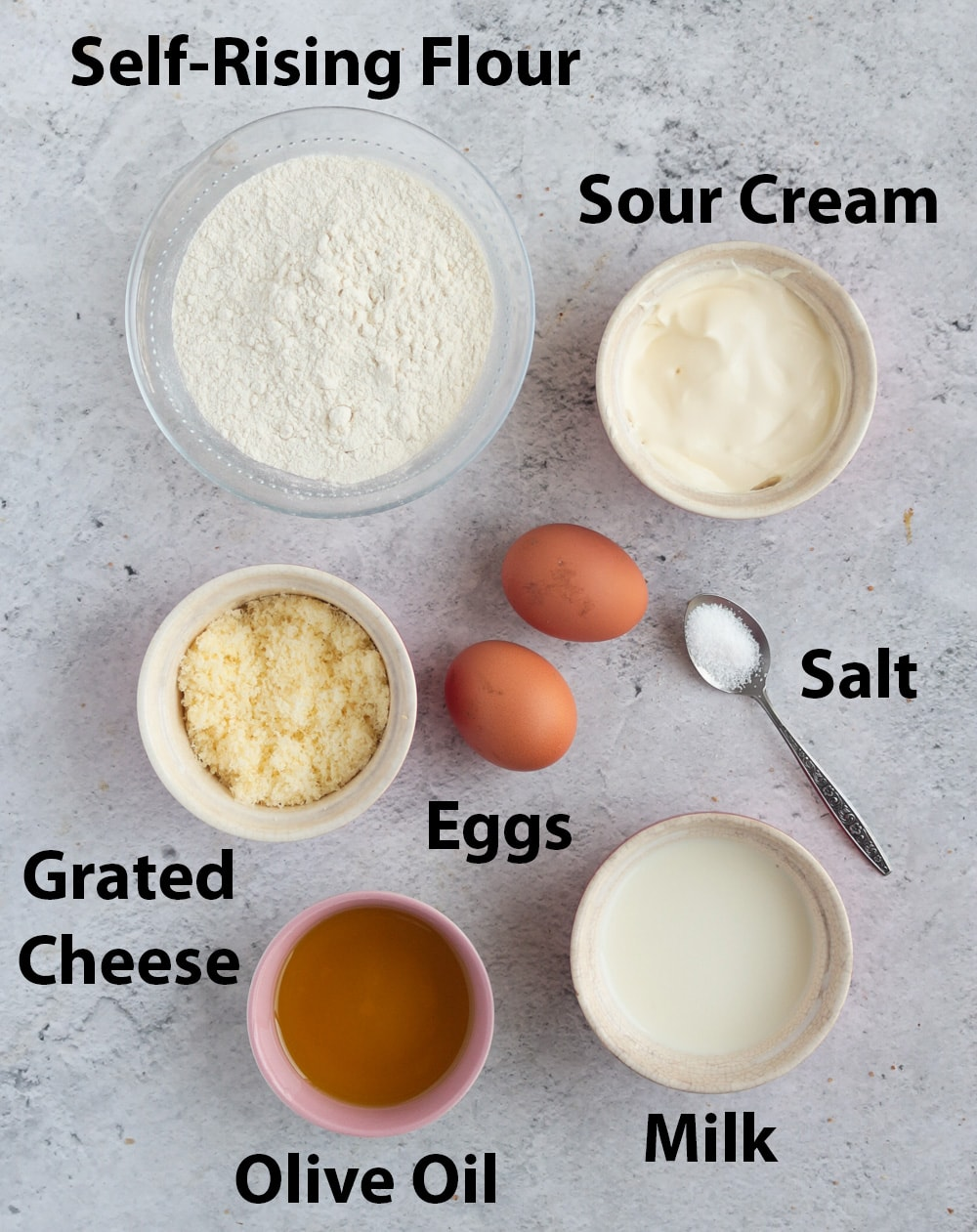 Ingredient Flatlay