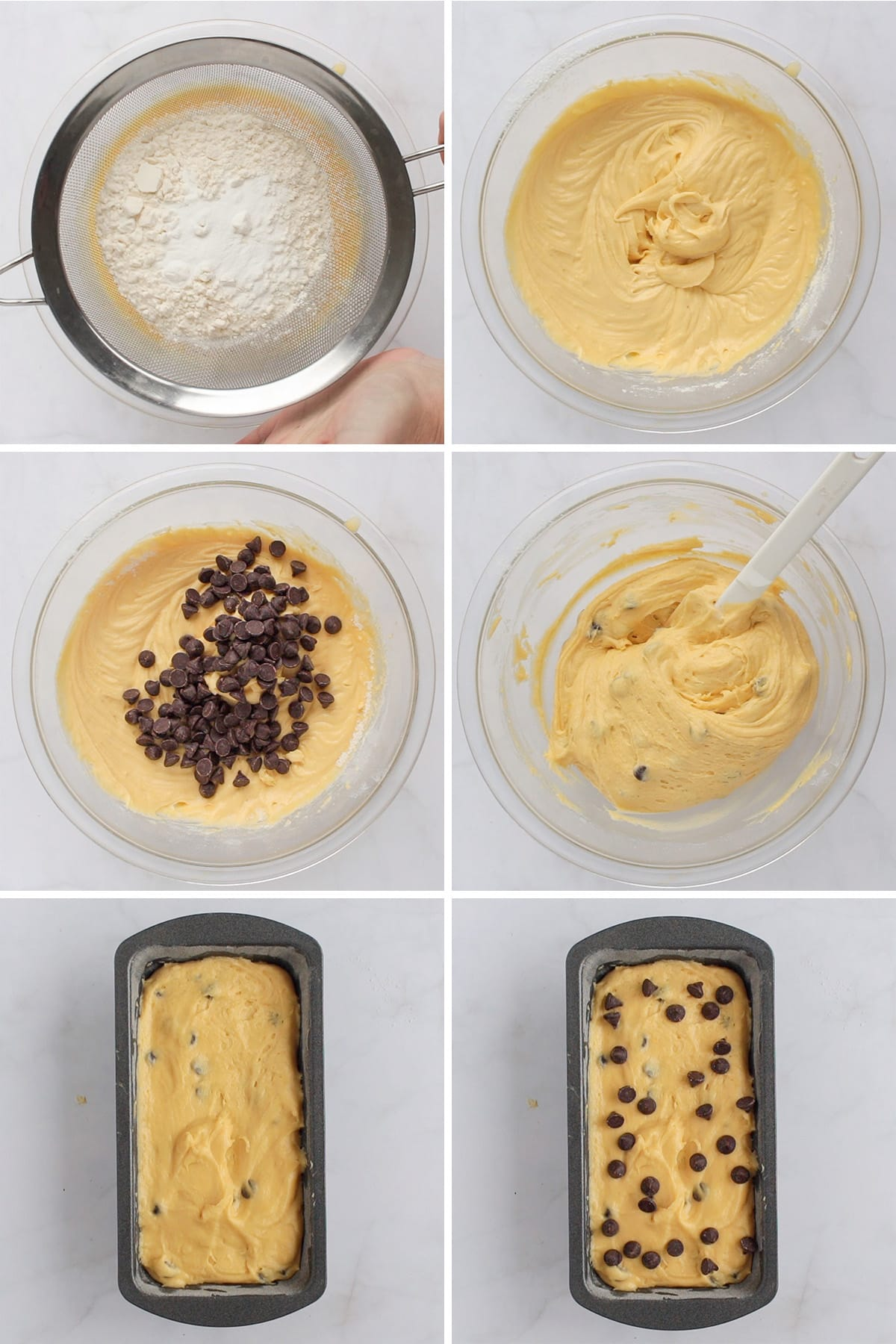 Process Shot 2: adding the dry ingredients and chocolate chips
