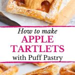 How to make Apple Tartlets with Puff Pastry
