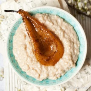 Pear Rice Pudding