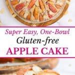 One Bowl Gluten Free Apple Cake