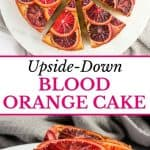 Upside Down Blood Orange Cake1