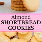 Almond Shortbread Cookies.