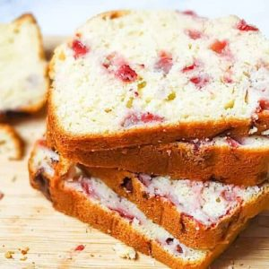 Strawberry Lemon Bread.